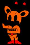 奈良県警のマスコット ナポ君